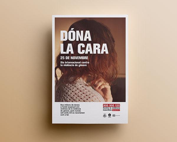 Dóna la Cara - Ajuntament de Torelló - Disseny Gràfic