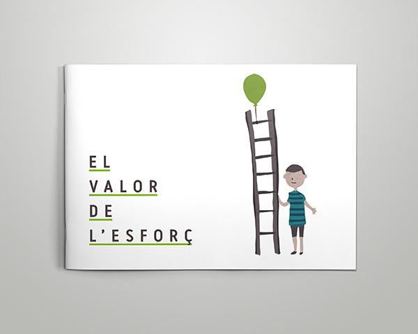 control Z – El Valor De Esforc - Xarxa Debat Educatiu Torello - Disseny grafic