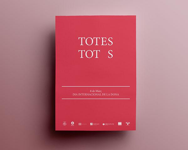 Dia de la dona - Totes Tot s - Ajuntament de Torelló - Disseny Gràfic