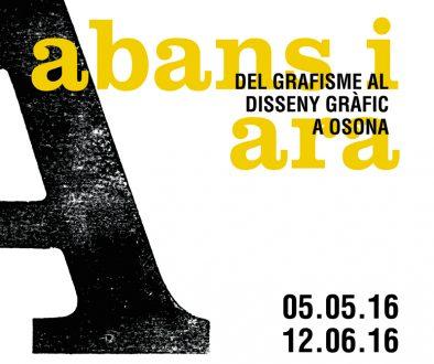 VICCC - Abans i Ara - Del grafisme al disseny grafic a Osona